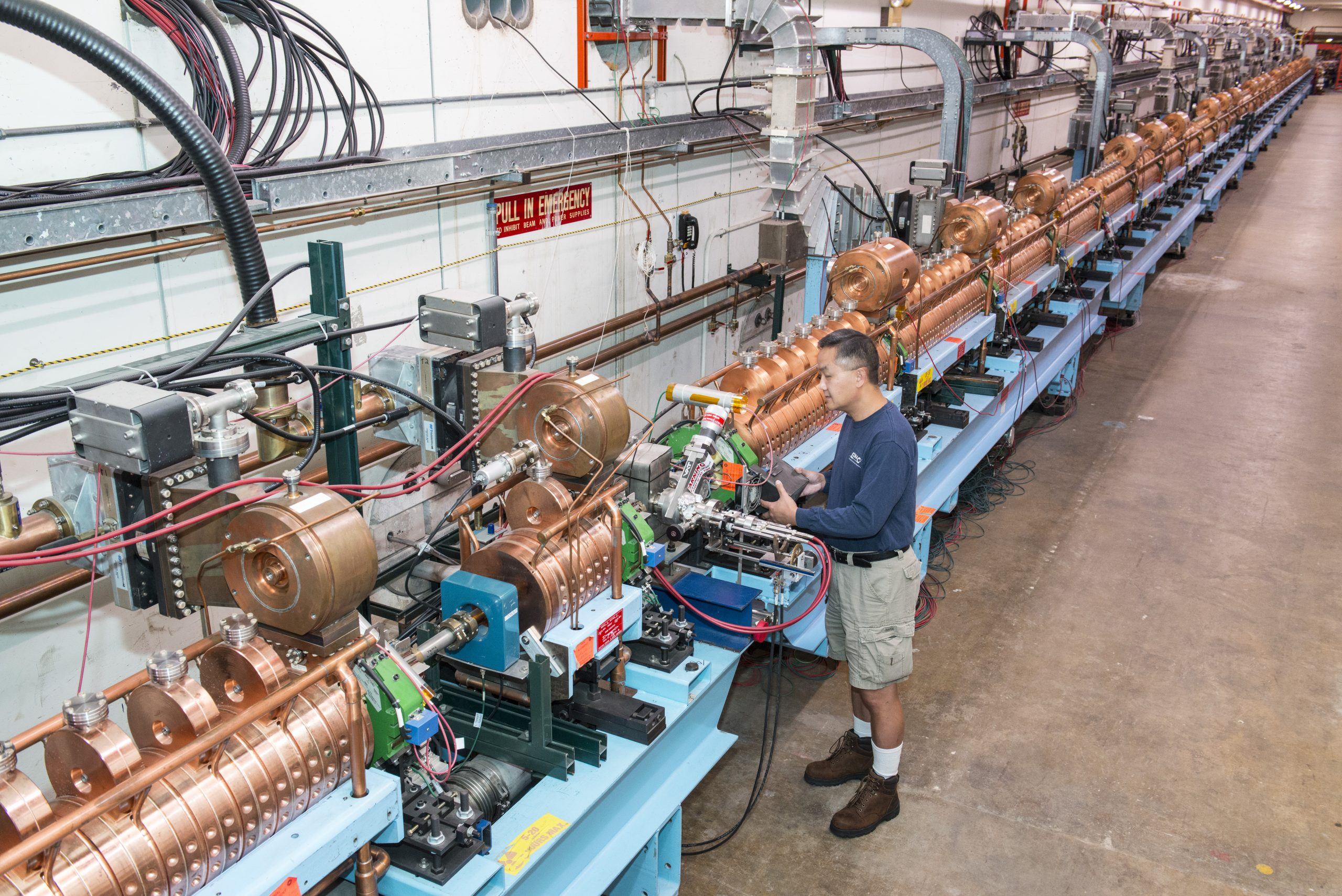 The Fermilab Linac will undergo upgrades to improve its reliability during the accelerator shutdown. Photo: Reidar Hahn