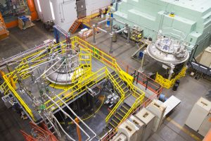 Cryogenic tests for Fermilab's Mu2e experiment will take place here. Mu2e is one of the experiments that will benefit from INTENSE researchers. Photo: Reidar Hahn