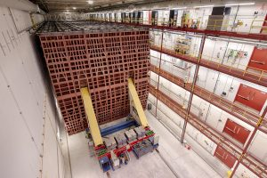 At the Neutrino 2018 conference, Fermilab's NOvA neutrino experiment announced that it had seen strong evidence of muon antineutrinos oscillating into electron antineutrinos over long distances. NOvA collaborated with the Department of Energy's Scientific Discovery through Advanced Computing program and Fermilab's HEPCloud program to perform the largest-scale analysis ever to support the recent evidence. Photo: Reidar Hahn