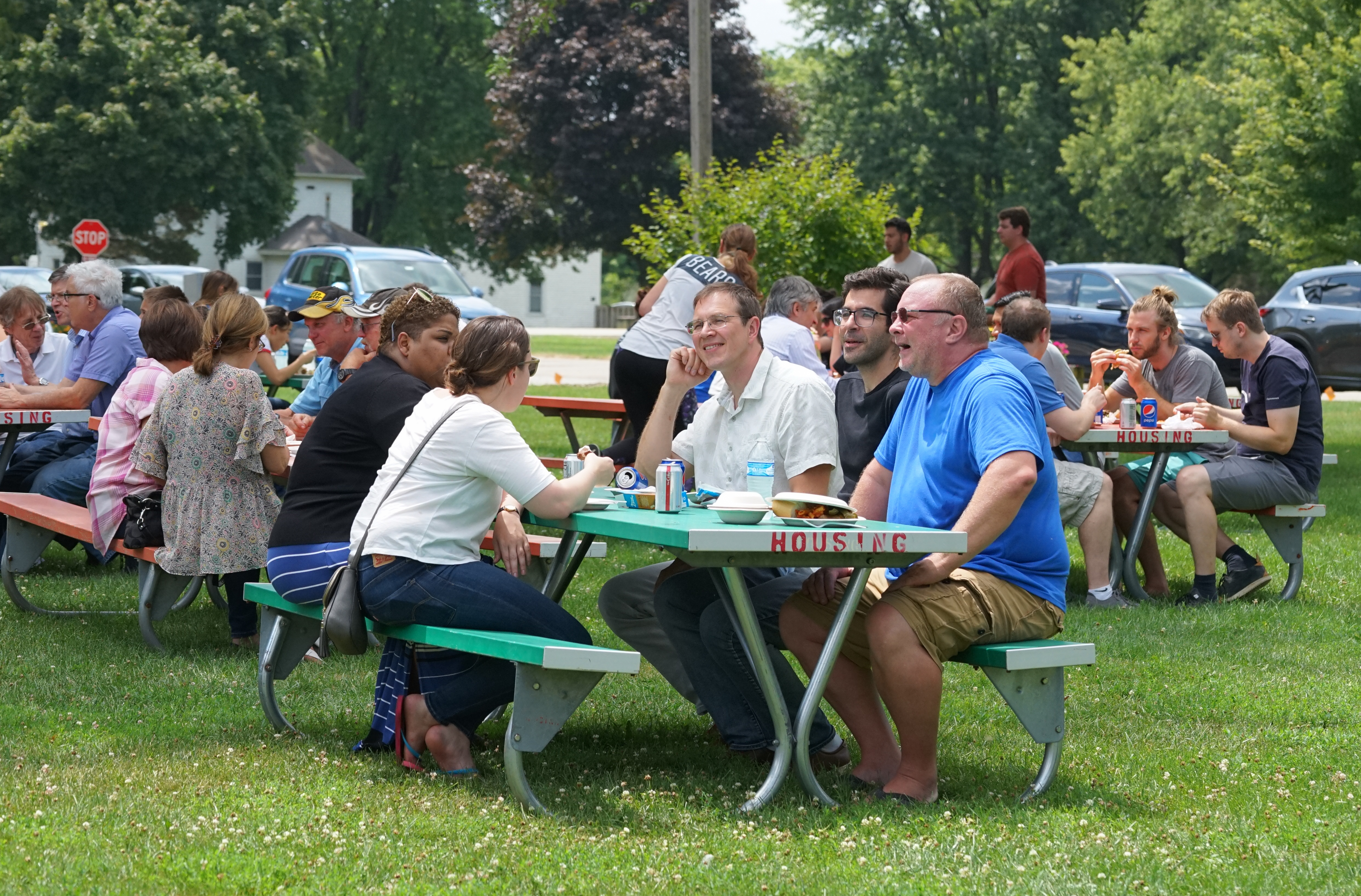 (1/5) On Aug. 8, the Particle Physics Division held a summer picnic — a beautiful day for one. people, lab life Photo: Leticia Shaddix