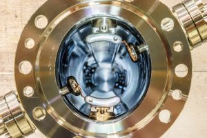 The IOTA kicker removes packets of particles from the particle beam. Photo: Giulio Stancari