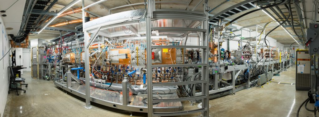 The PIP-II beam chopper will eventually be installed in the front end of this accelerator, called the PIP-II Injector Test accelerator, or PIP2IT. Photo: Reidar Hahn