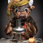 Miss Cleo Bison is here to tell you your fortune. Let her peer into her cavity and see if there is a new accelerator in your future. Photo: Spider Spawn