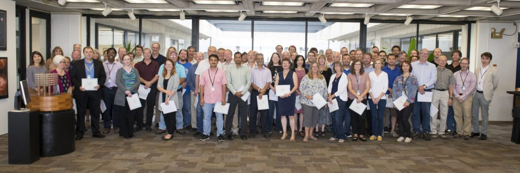Exceptional Performance Recognition awardees 2018