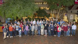 Roughly 100 physicists attended the recent workshop at Fermilab on machine learning for jet physics. Photo: Reidar Hahn