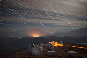 This Chilean mountaintop is the home of the Dark Energy Camera. See a 5-minute video, created by the photographer, of time-lapse clips from the Blanco telescope. astrophysics, Dark Energy Camera, Dark Energy Survey, time-lapse Photo: Marty Murphy