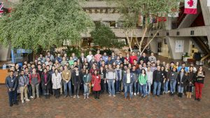 More than 100 graduate students, postdocs and faculty from around the world participated in the the ninth annual CMS Data Analysis School hosted by the LHC Physics Center. Photo: Reidar Hahn