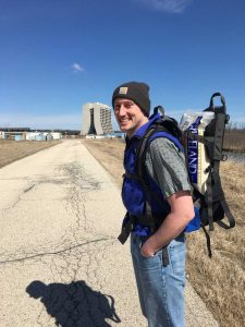 Dirk Hurd was recently hiking during lunch time and brought a snack along. people Photo: Christine Ader