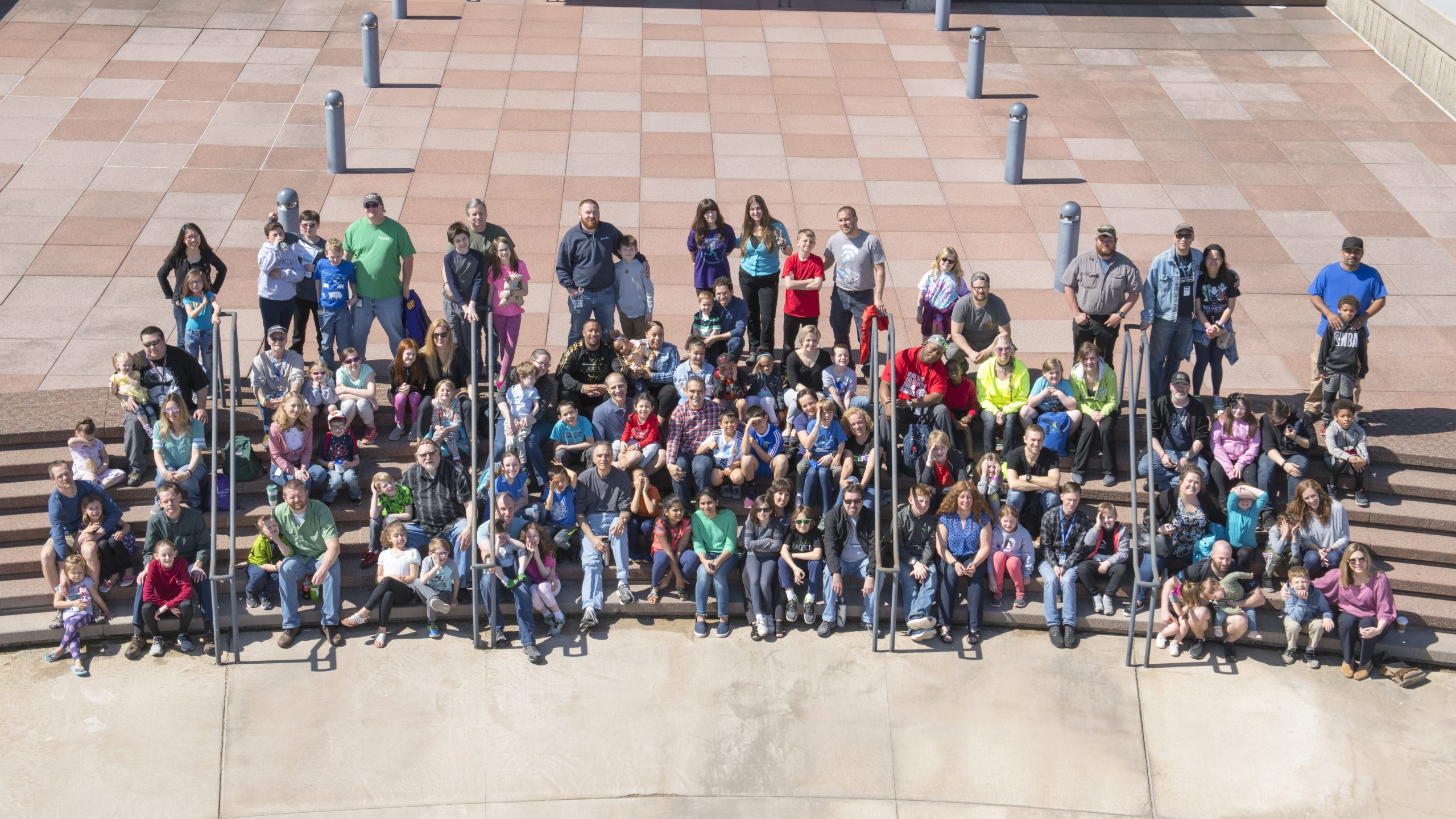 Fermilab employees, users and their kids showed up for DASTOW on April 25. Relive the memories. people, lab life Photo: Reidar Hahn