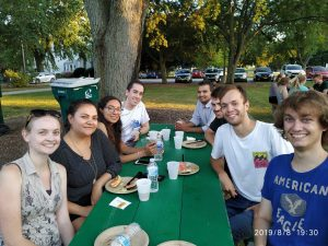 (3/6) Summer school wouldn't be summer school without a picnic. student, people, lab life Photo: Pablo Herrero