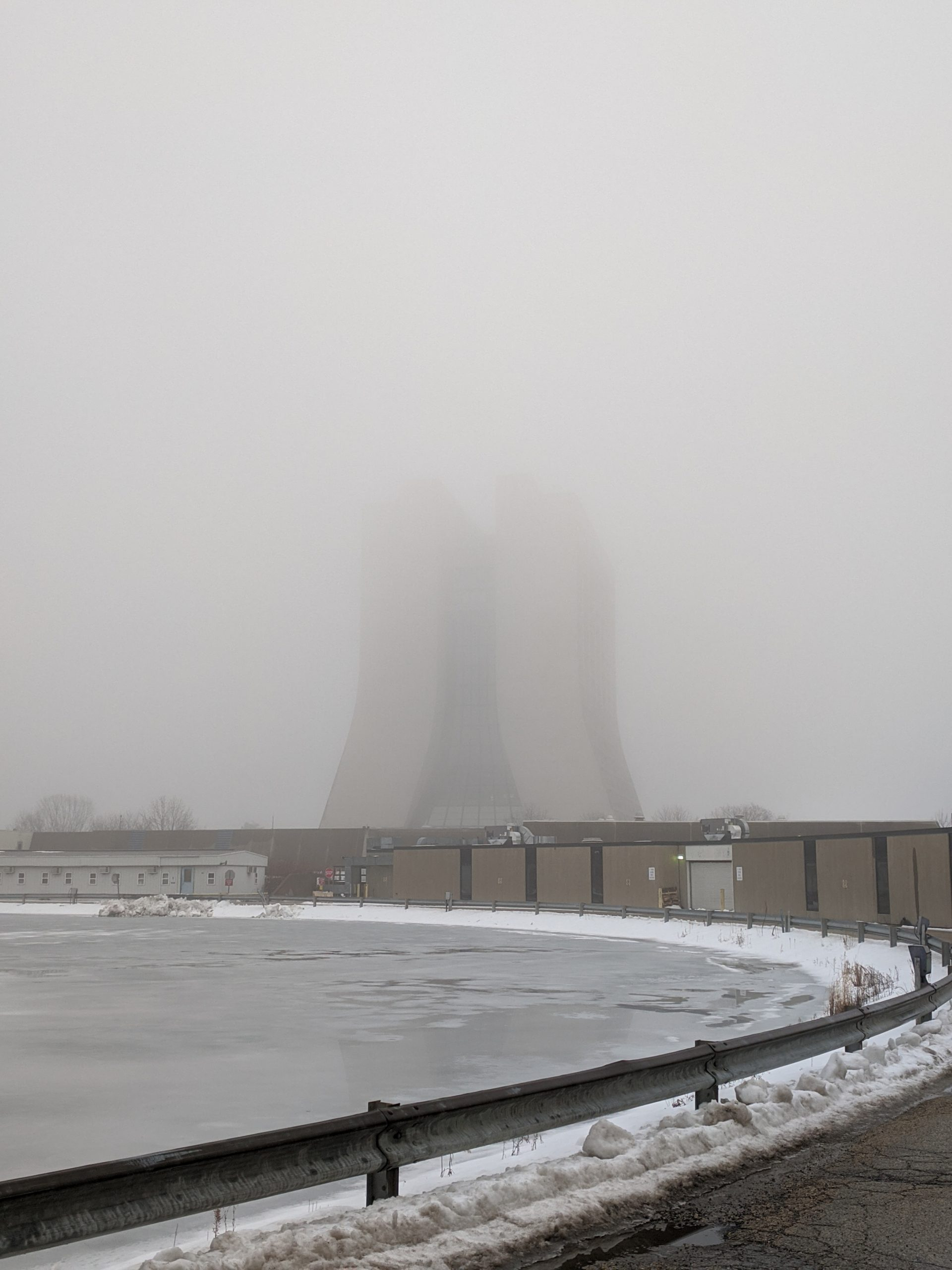 Wilson Hall is obscured by the fog on a January day. nature, winter, building, fog, Wilson Hall Photo: Mark Dilday