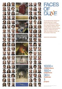 Faces of DUNE poster