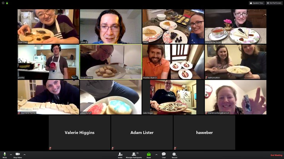 Episode 2 had a technical challenge of shortbread, with a few bakers making something different. people Screenshot: Julian Badillo Rojas