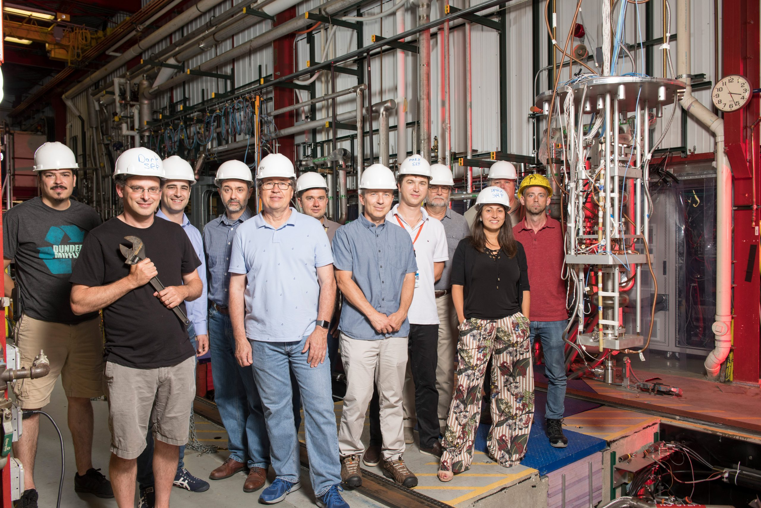 The Dark SRF team at Fermilab is advancing the search for dark photons.