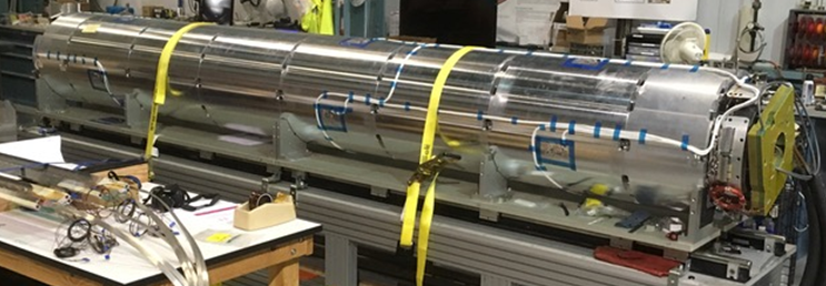 This new magnet reached the highest field strength ever recorded for an accelerator focusing magnet. Designed and built by Fermilab, Brookhaven National Laboratory and Lawrence Berkeley National Laboratory, it will be the first niobium-tin quadrupole magnet ever to operate in a particle accelerator — in this case, the future High-Luminosity Large Hadron Collider at CERN.