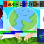 Grace Quinn created a digital collage for Earth Day. art, environment Photo: Matthew Quinn