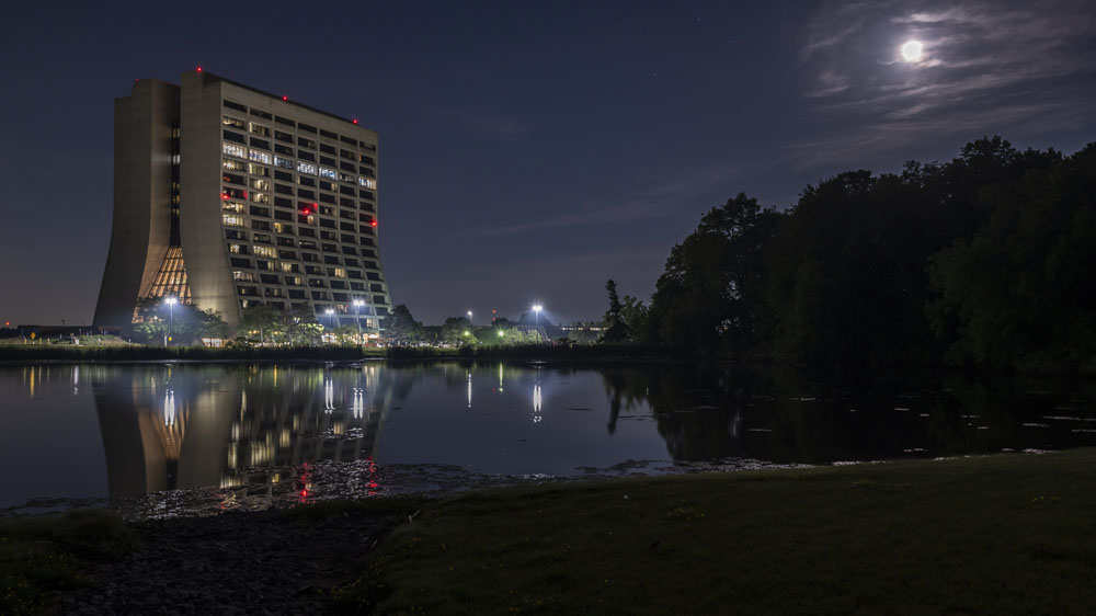 Wilson Hall at night is always a gorgeous sight. landscape, pond, water, Wilson Hall, building, night, nature Photo: Steve Baginski