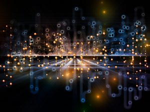 The quantum internet will rely on the laws of quantum mechanics to control and transmit information. Image: Peter Allen