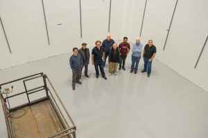 This newly renovated area once housed the 15-foot Bubble Chamber. but with the LDRD in mindpeople Photo: Leticia Shaddix