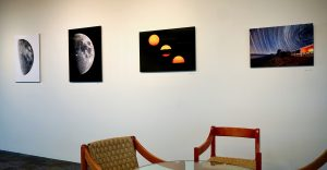 Currently on display in the Fermilab Art Galley is astrophotography by Marty Murphy and Eric Coles. arts, art Photo: Georgia Schwender