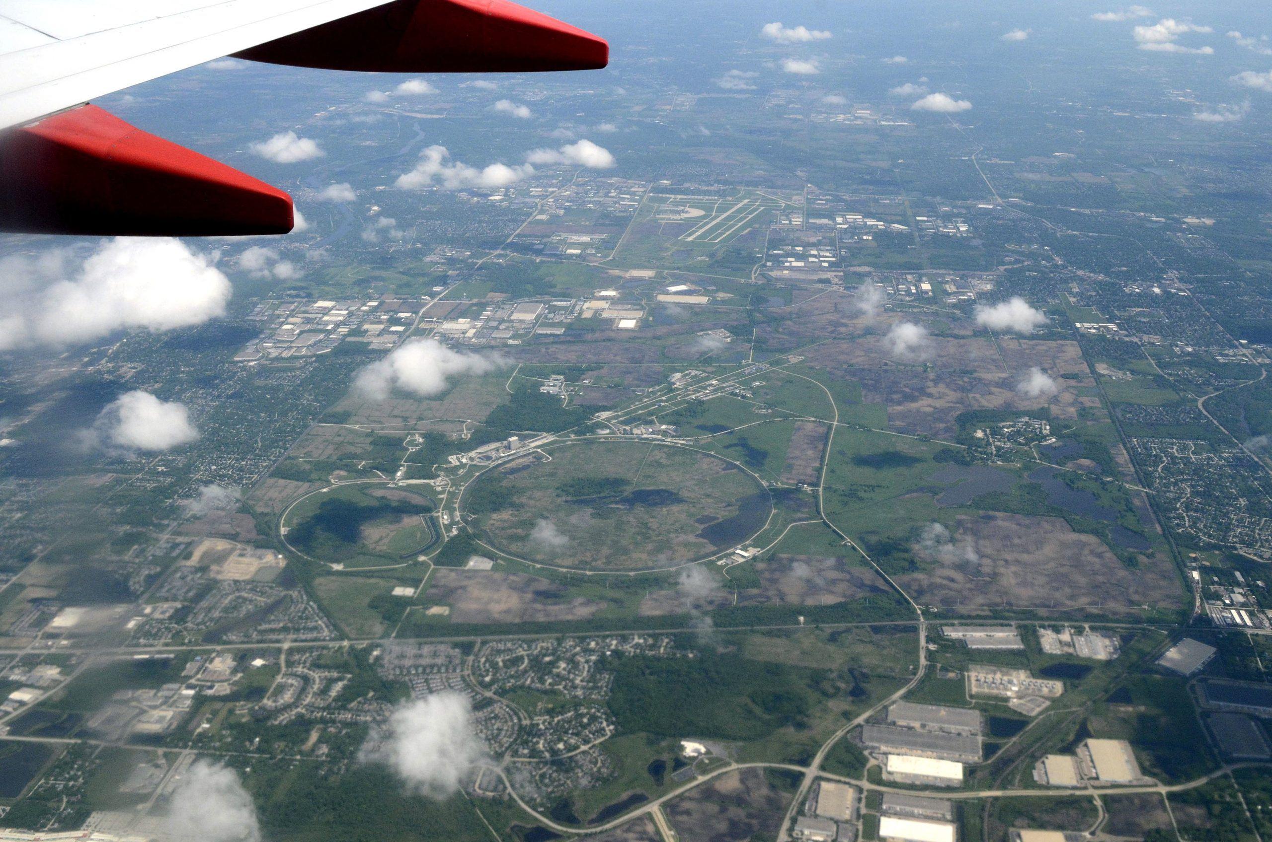 This photo was taken earlier this year from a flight that started at Midway Airport. Photo: Albert Dyer. aerial Photo: Albert Dyer