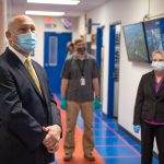 DOE Office of Science Director Chris Fall visits Fermilab