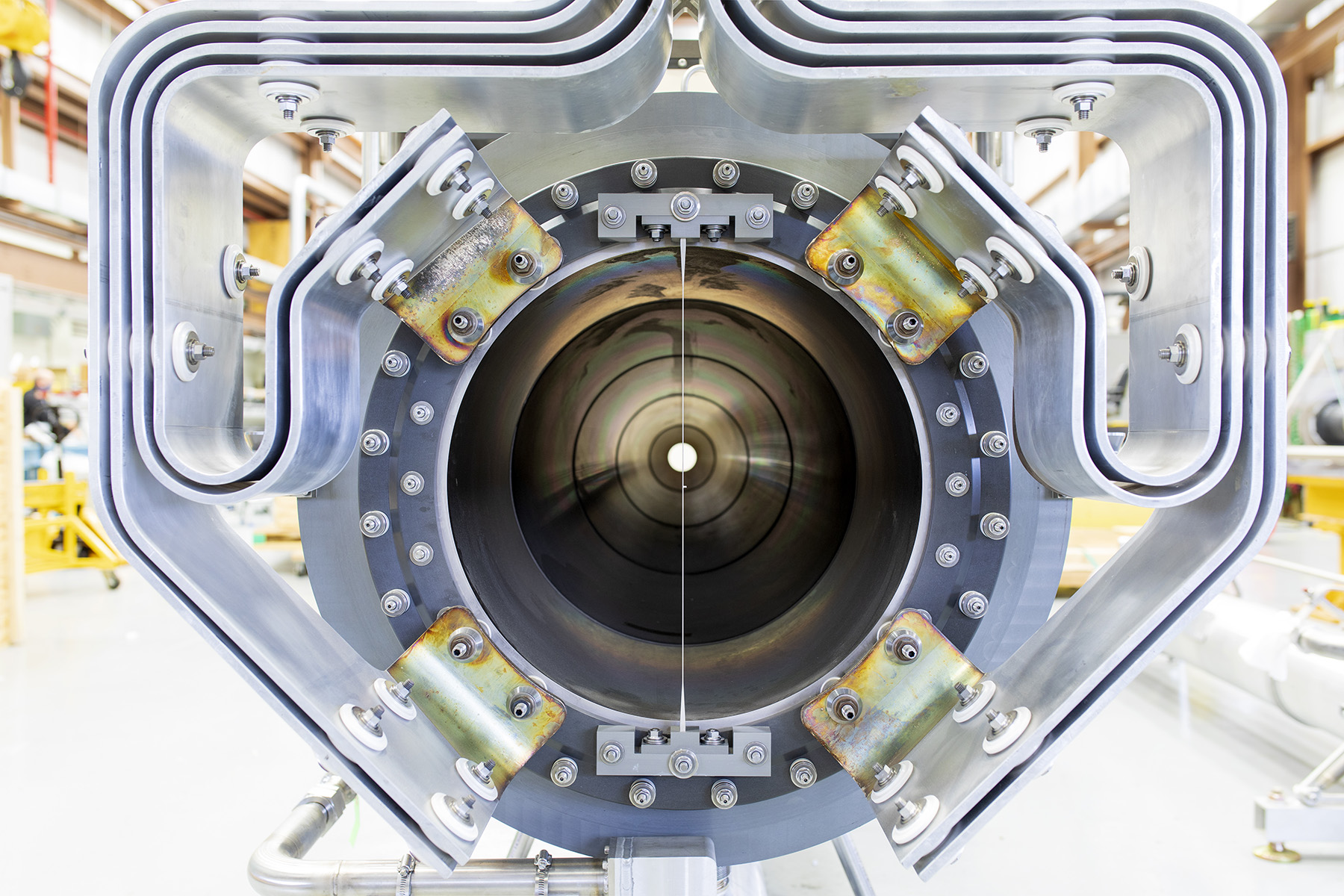 This is NuMI horn PH2-04. accelerator technology, targetry, neutrino Photo: Marty Murphy