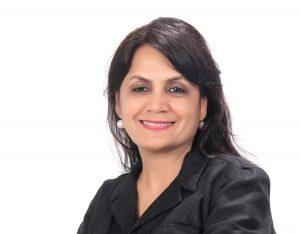 portrait of Anju Jain