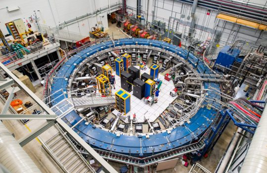 Muon g-2 superconducting magnetic storage ring
