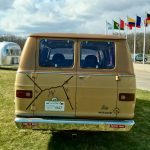 """The Feynman van was on display in front of Wilson Hall in 2014 as part of the art exhibit by Edward Tufte, """"The Cognitive Art of Feynman Diagrams."""" campus, humor Photo: Jim Simone"""