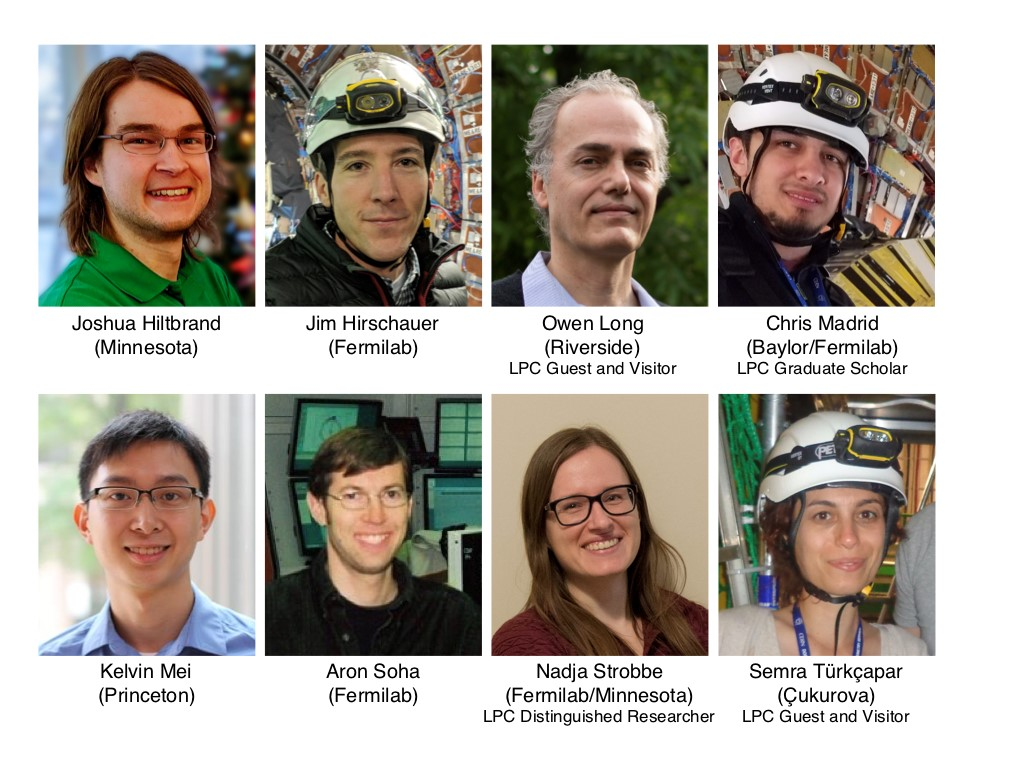These physicists comprise the LPC team that contributed to the supersymmetry analysis.