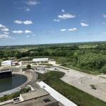 A view of the Booster and Muon Campus from above.