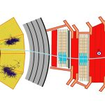 Colorful schematic of a detector